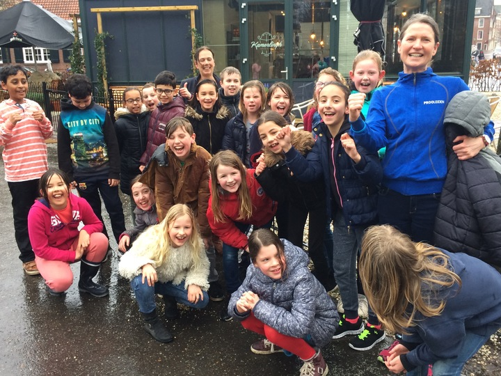 groep 6a na de daily mile